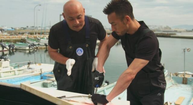 中田英寿 漁師